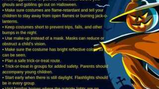 Tehachapi PD releases Halloween safety tips