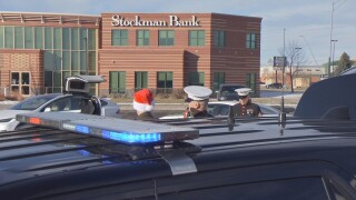 Montana Highway Patrol partnered with U.S. Marine Corps to collect toys for tots