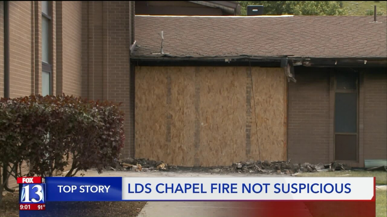 Early morning fire engulfs Latter-day Saint church in Cottonwood Heights