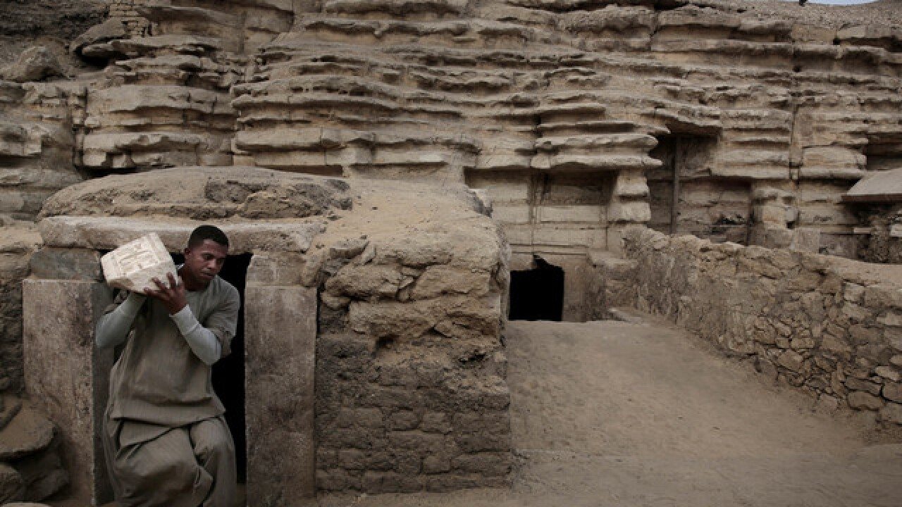 Egypt's newly discovered tombs hold mummies