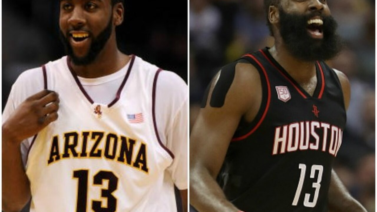 Former Arizona State Sun Devils star James Harden named 2017-18 NBA MVP
