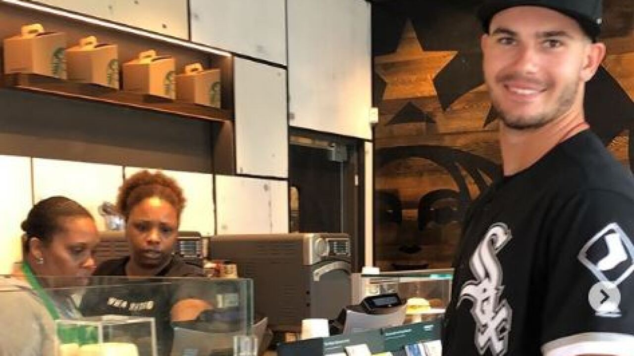 The White Sox sent a rookie to get coffee in Detroit - in full uniform