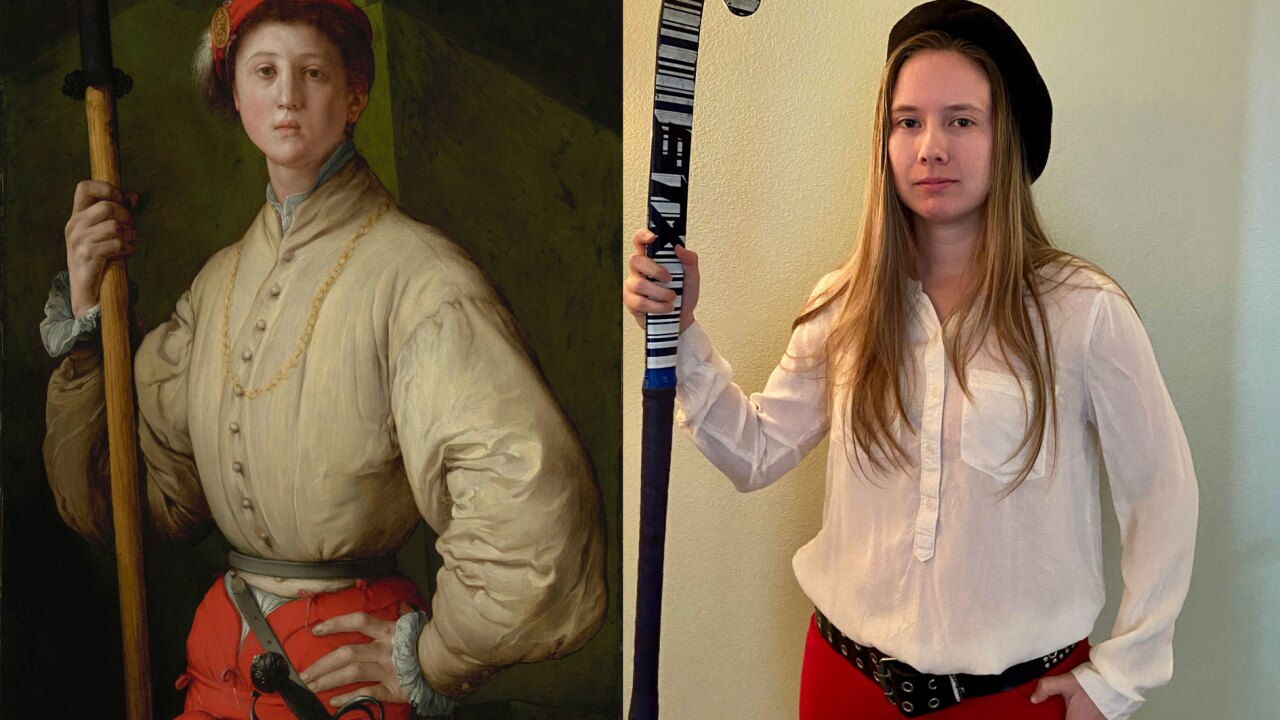 Getty Museum challenges public to recreate famous art with household items