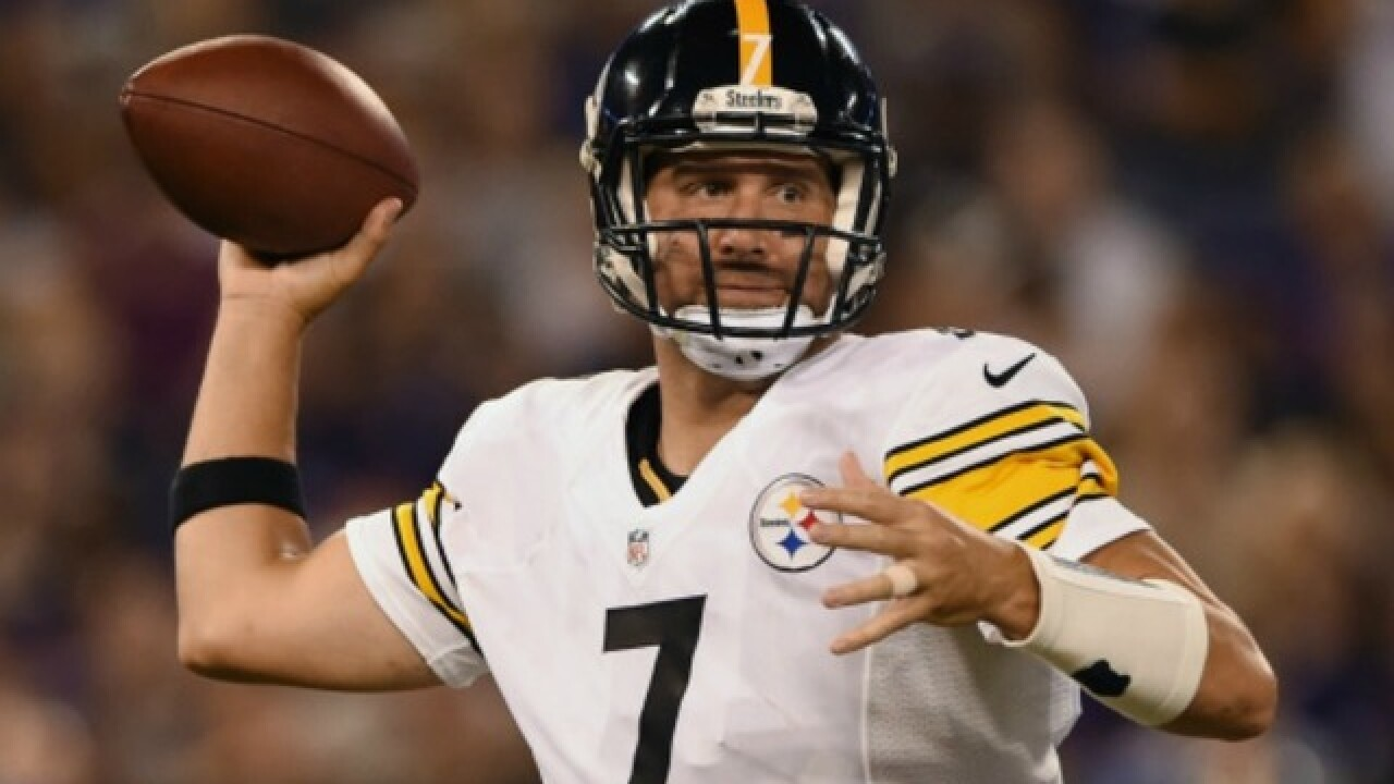 37534856 Steelers quarterback Ben Roethlisberger 'couldn't sleep' after staying in  tunnel for national anthem