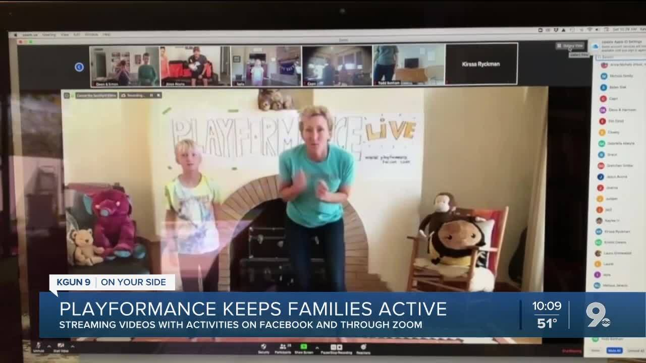 Playformance brings the fun to you and your family