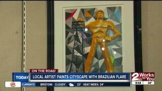On the Road: TCC artist celebrates Tulsa