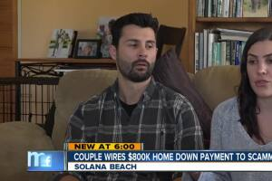 Couple wires $800,000 home down payment to scammer