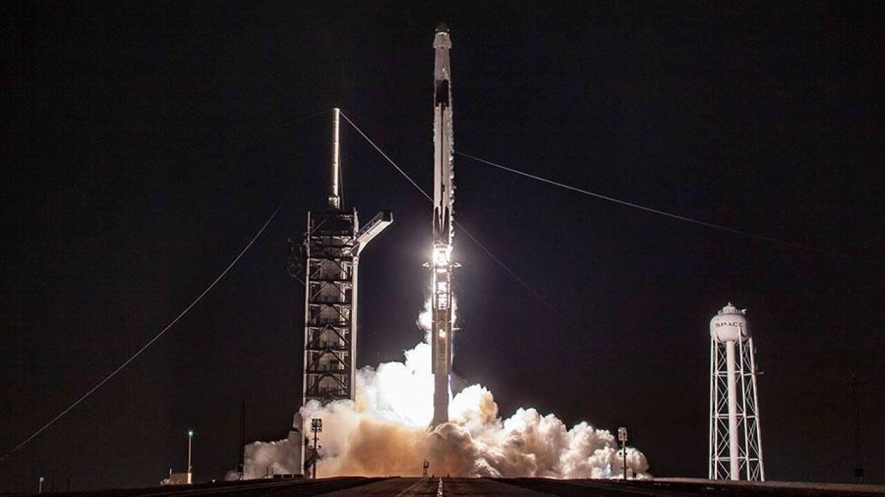 Kennedy Space Center Rocket