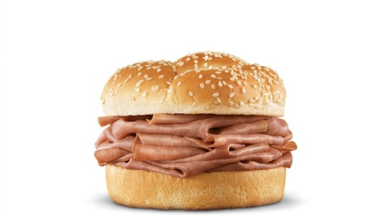 You can get a free classic roast beef sandwich from Arizona Arby's restaurants on Black Friday