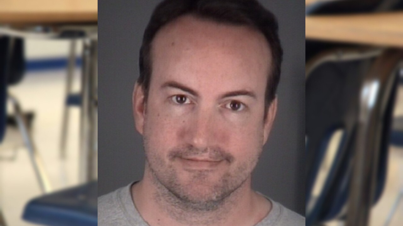 Teacher accused of filming student changing