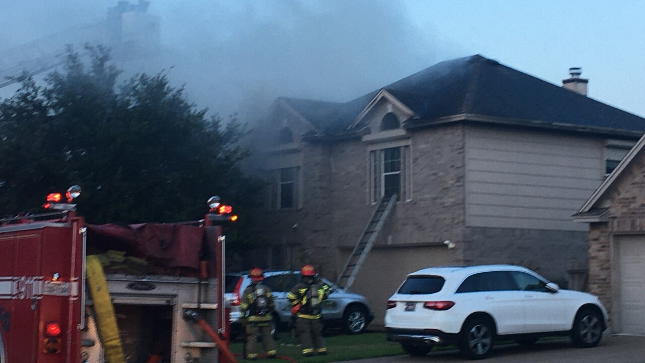 Firefighters injured during fire released from hospital
