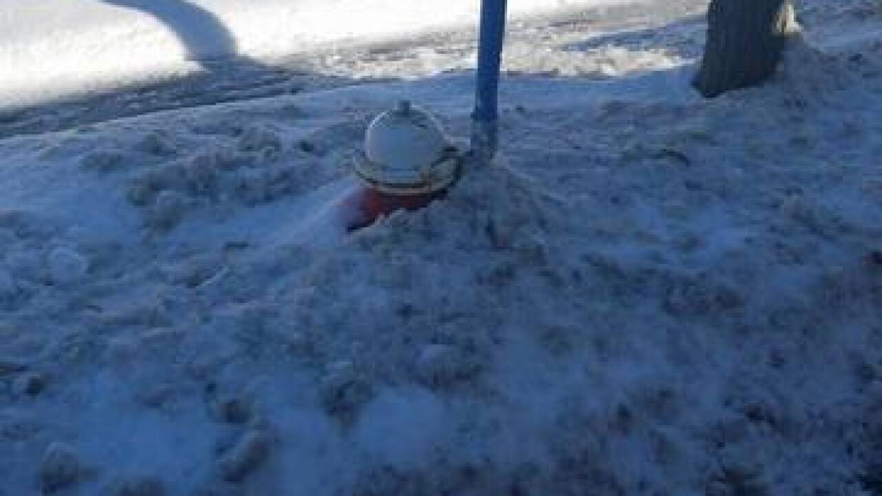 Reminder: Dig out your fire hydrants