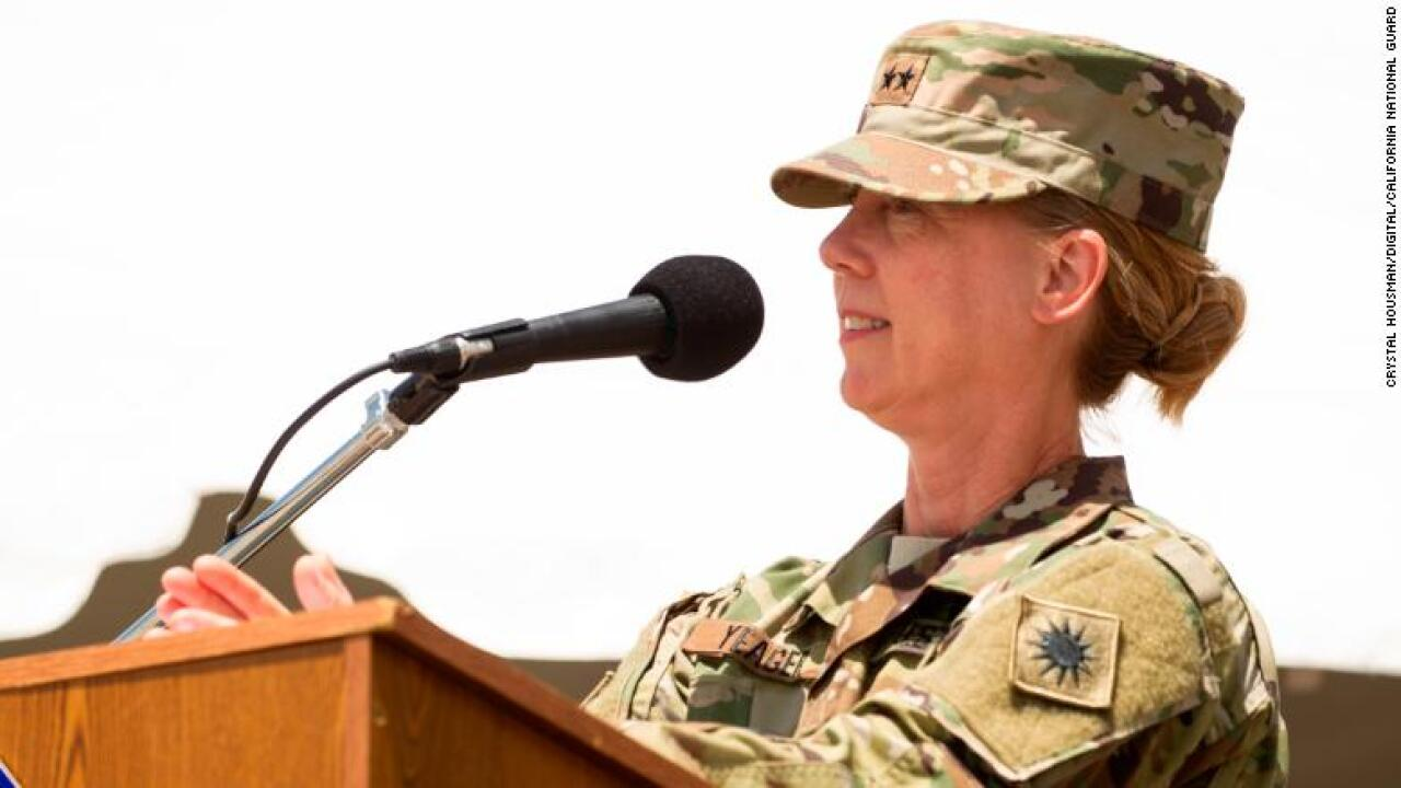 Meet the first woman commander of a US Army infantry division