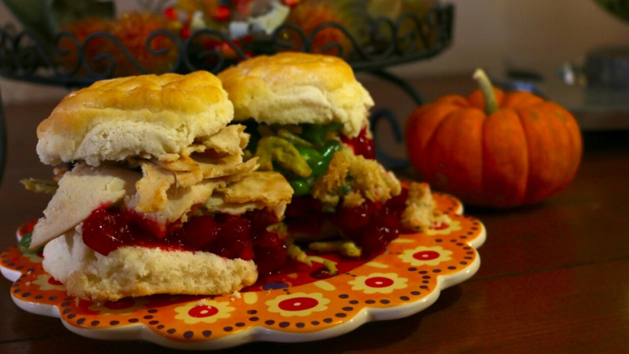 🦃The Gobbler: This delectable sandwich will change your Thanksgiving