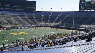 Michigan St Michigan Football Big House MICHIGAN STADIUM
