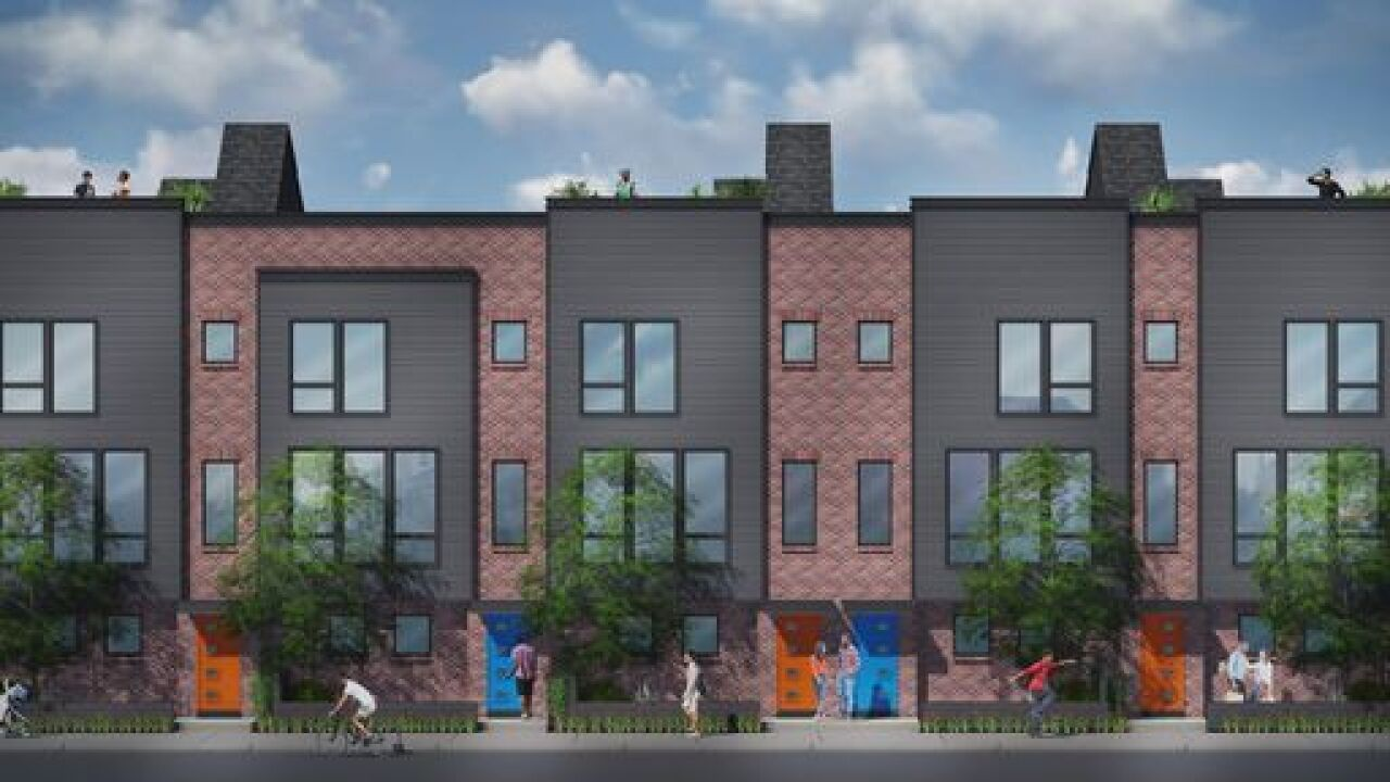 New town homes for sale at site of Tiger Stadium