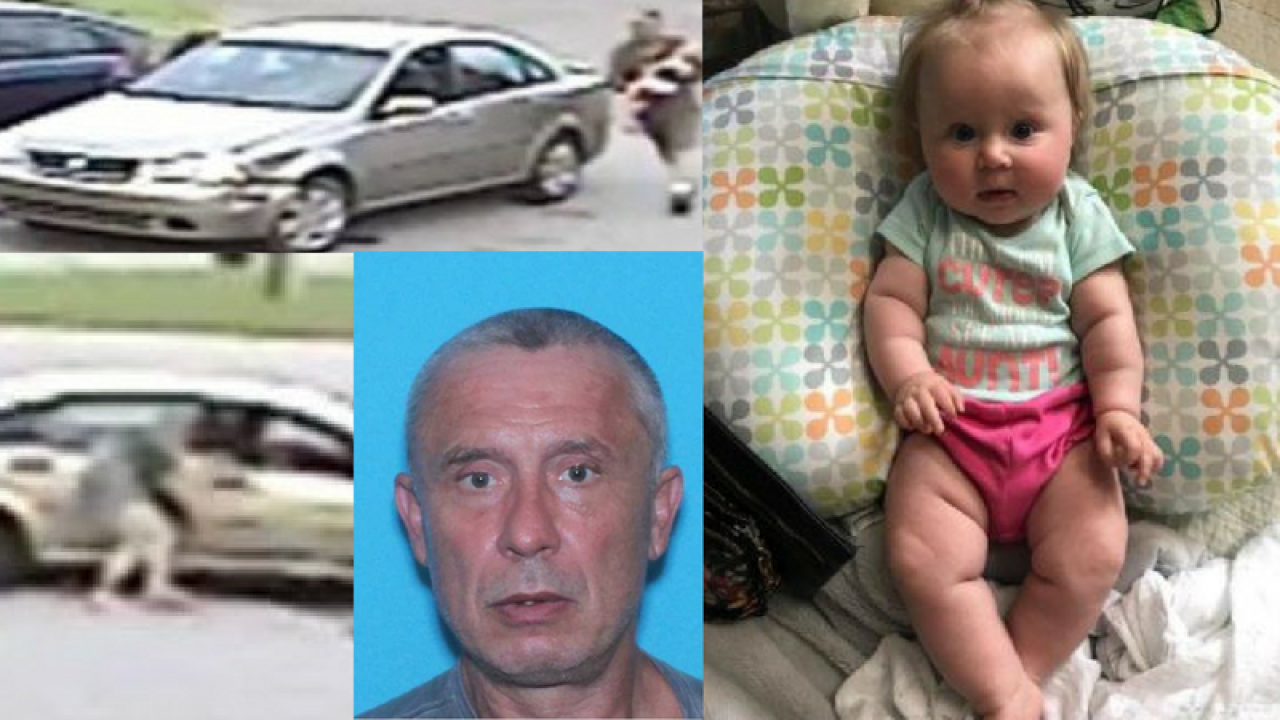AMBER Alert: Suspect who abducted baby from Virginia gas station possibly spotted in North Carolina
