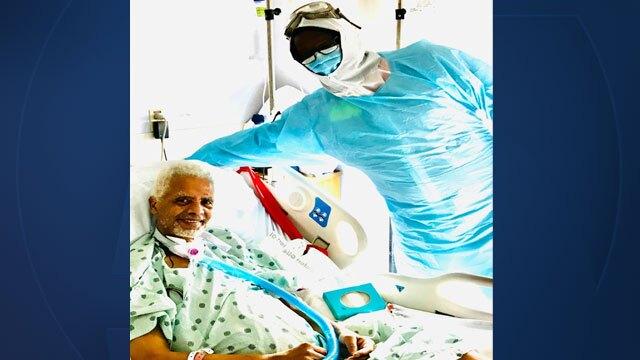 Dr. Vladimir Laroche in hospital