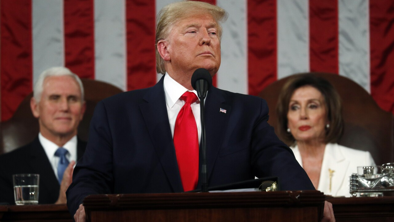 Read the full text of Trump's State of the Union address