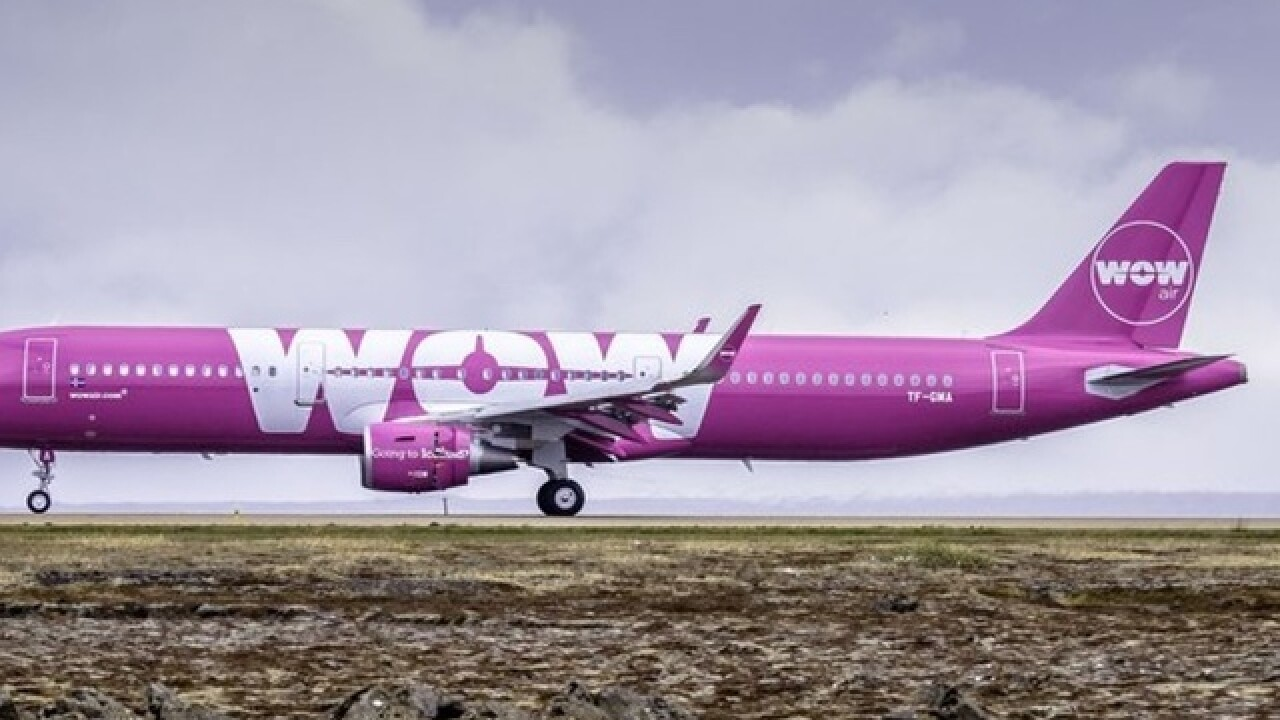 WOW Air will take passengers from CVG to several European destinations