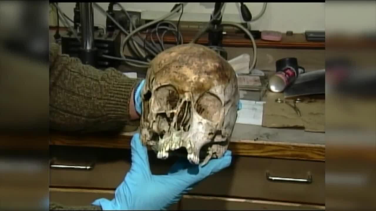 Marion Cold Case Skull