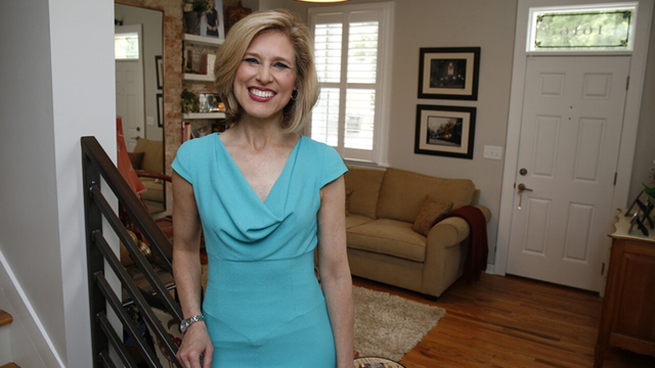 Home Tour: Kristyn Hartman's Northside row house reflects where she's been