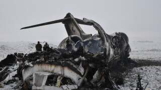 Remains of two US service members recovered from plane crash inAfghanistan