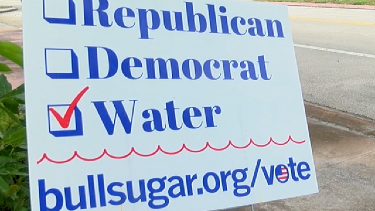Water a non-partisan issue on the Treasure Coast, some voters say