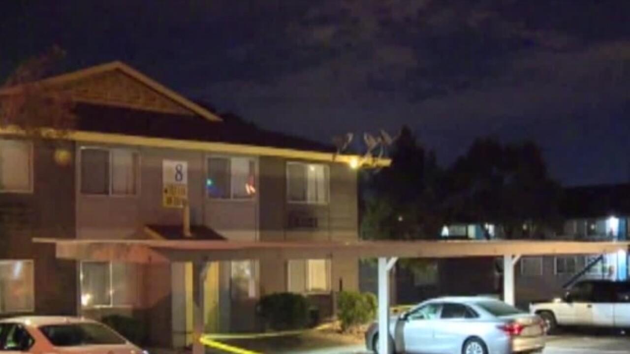 Two found shot in apartment near Twain, Decatur