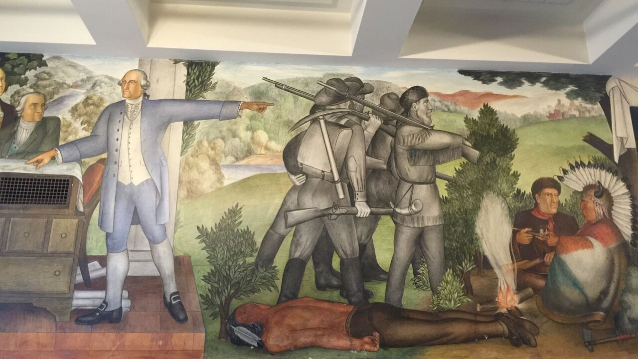 San Francisco school will cover up a mural depicting slaves and dead Native Americans