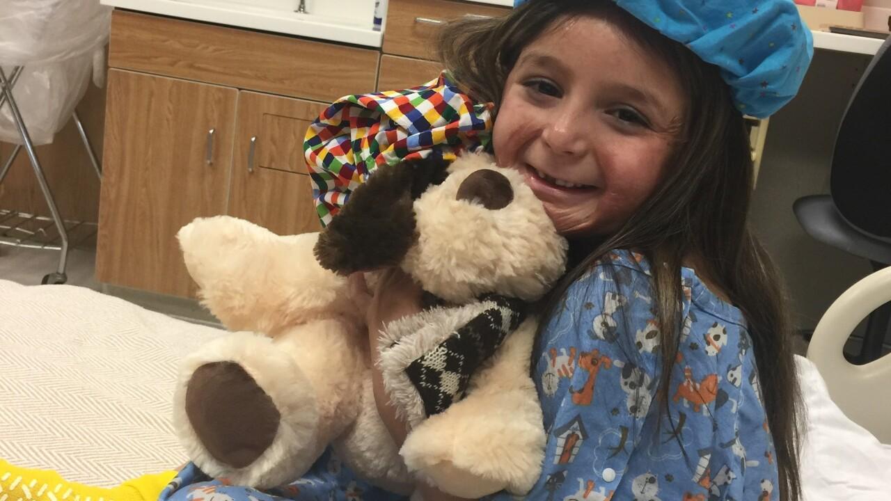 "Virginia Beach girl ""loving life"" three years after suffering facial burns in pumpkin lightingaccident"