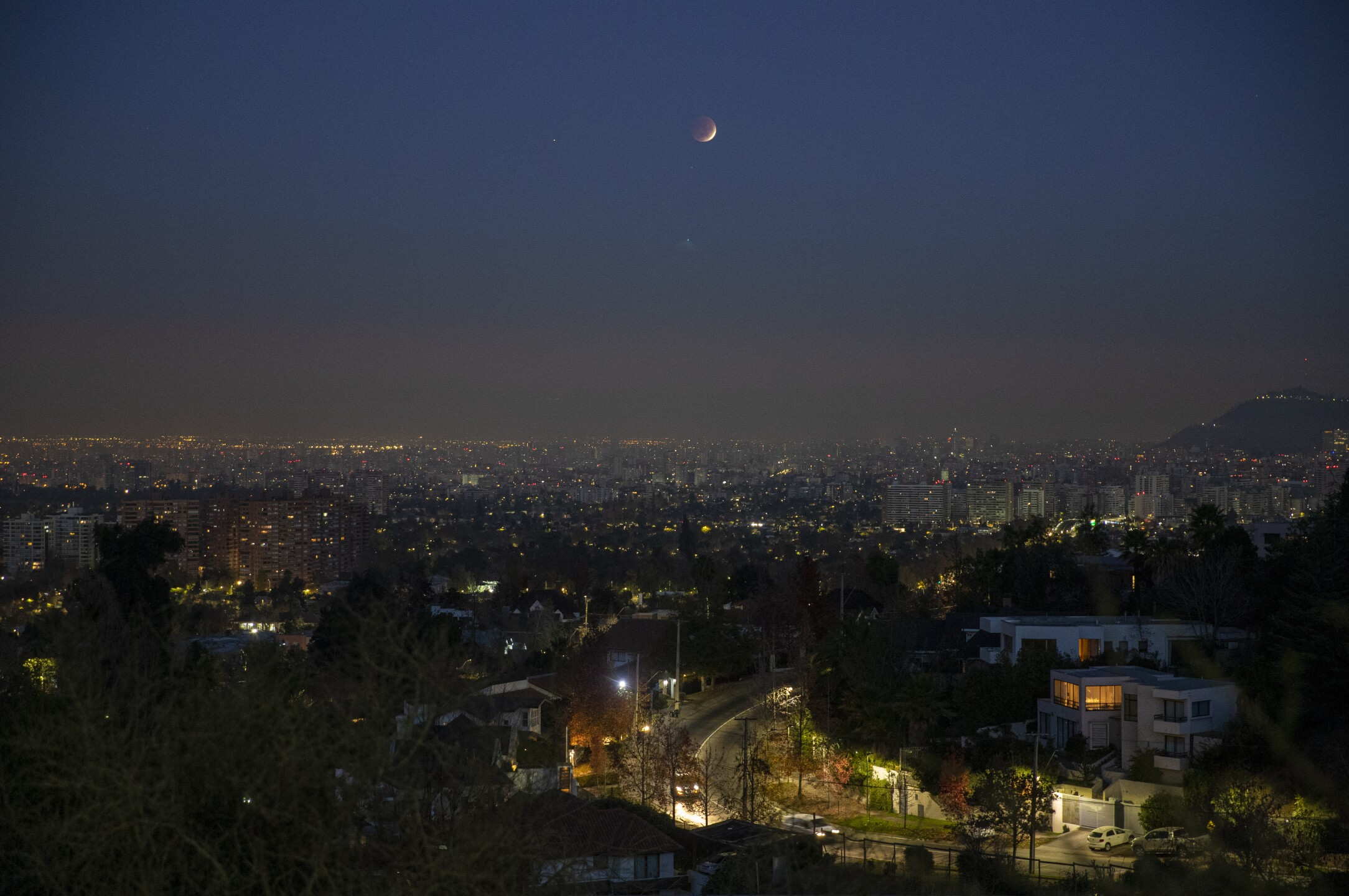 Lunar Eclipse Chile