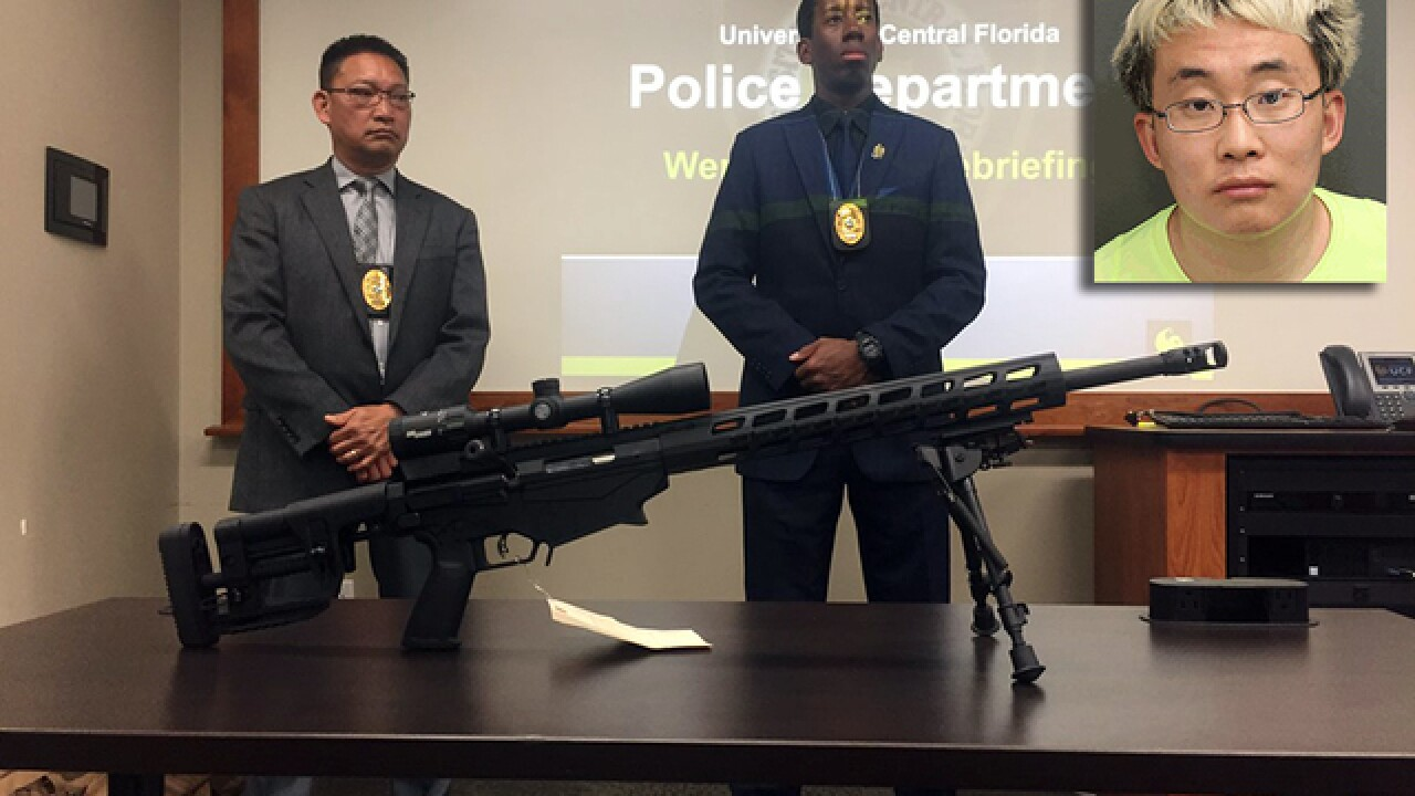 UCF student to be deported over behavior, guns