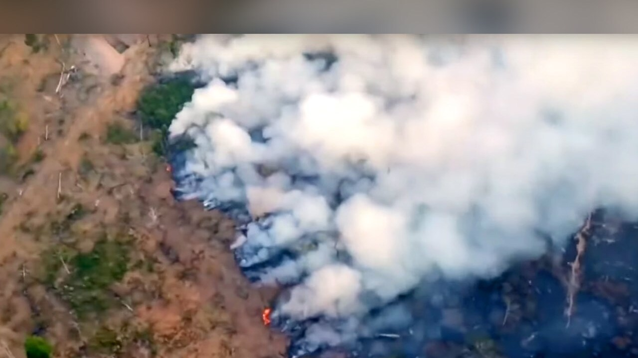Wildfires rage in Amazon rain forest