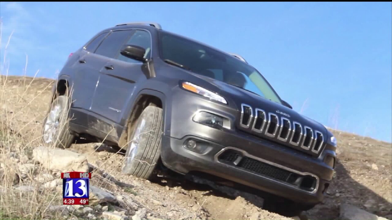 Testing the Jeep Cherokee off-road and onpavement
