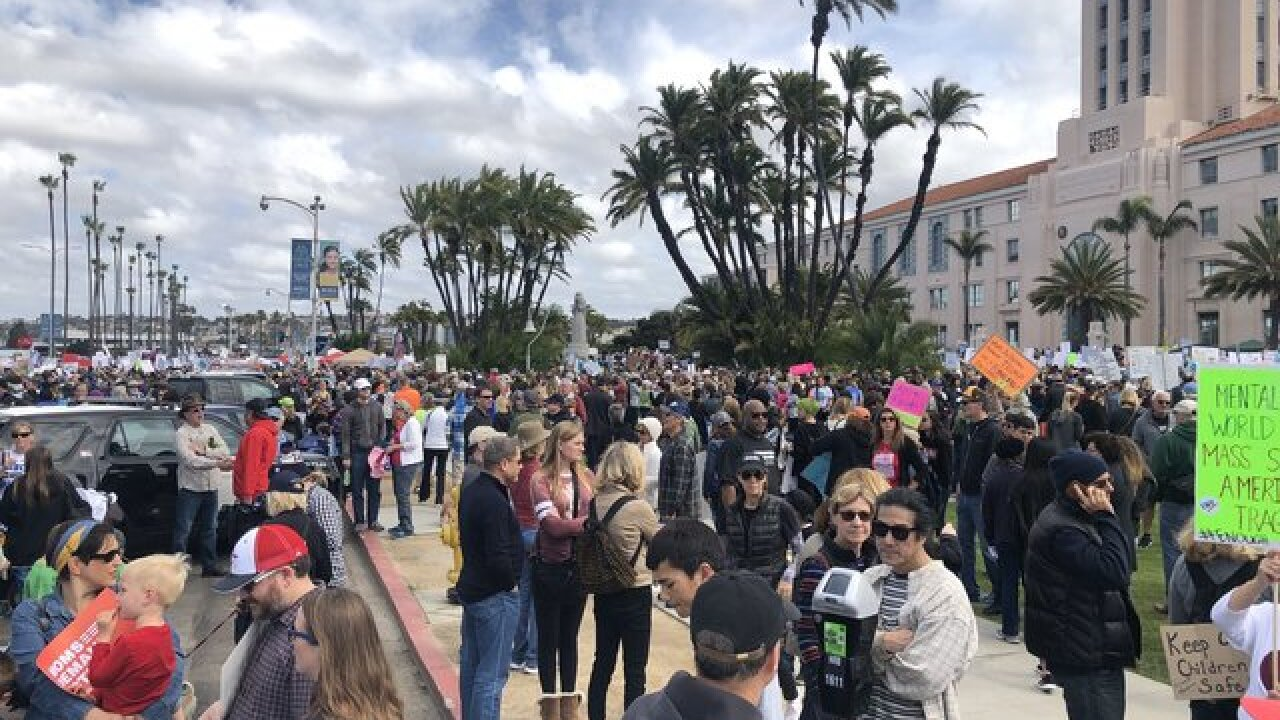March for Our Lives: San Diegans hit the streets