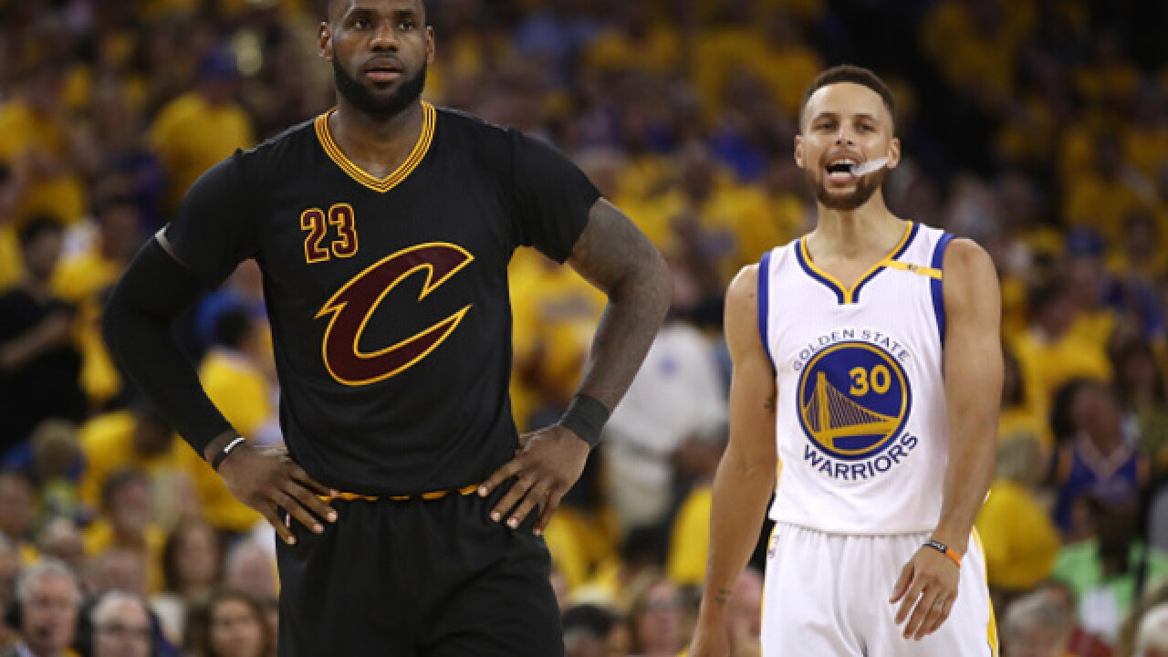 317893f379e Anticipated or anticlimactic  Warriors-Cavs 4.0 in NBA Finals