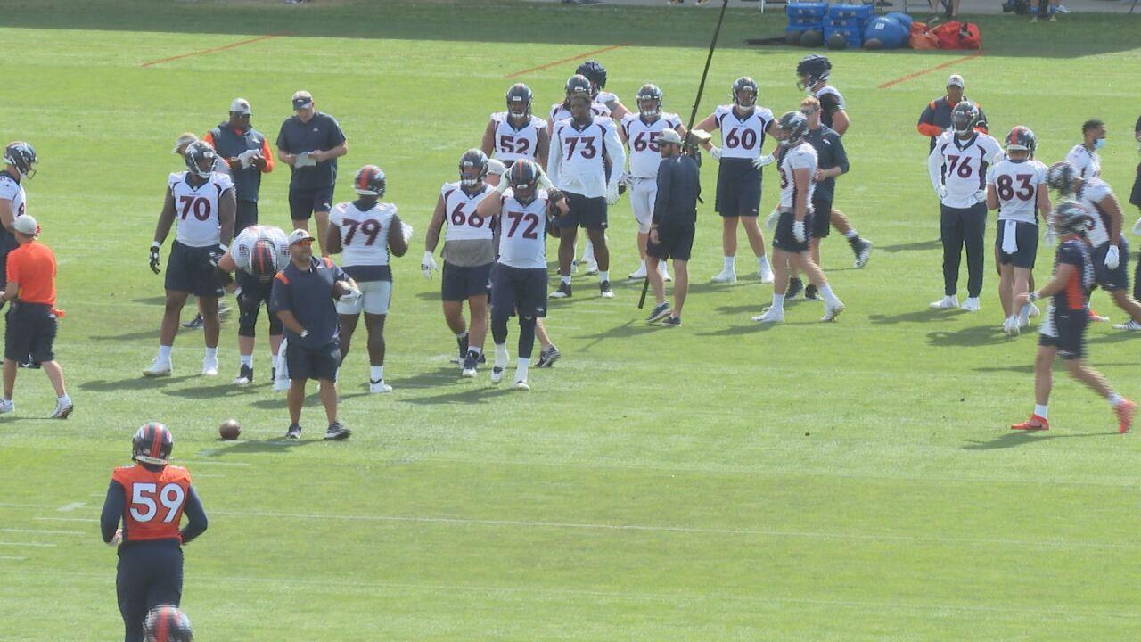 Broncos focus on 'sense of urgency'