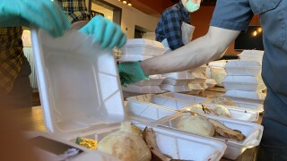 Denver group delivers 1,500 meals to local hospitals on Thanksgiving
