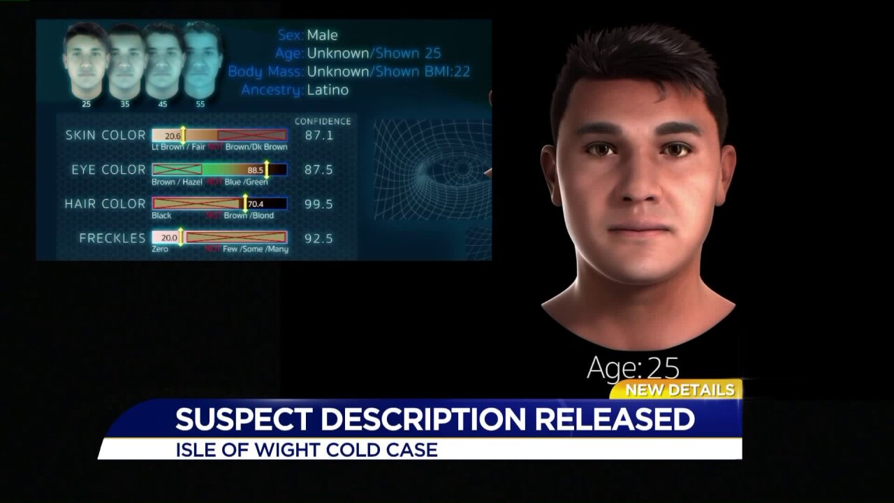 Isle of Wight Sheriff's Office announces suspect description in 13-year-old cold case
