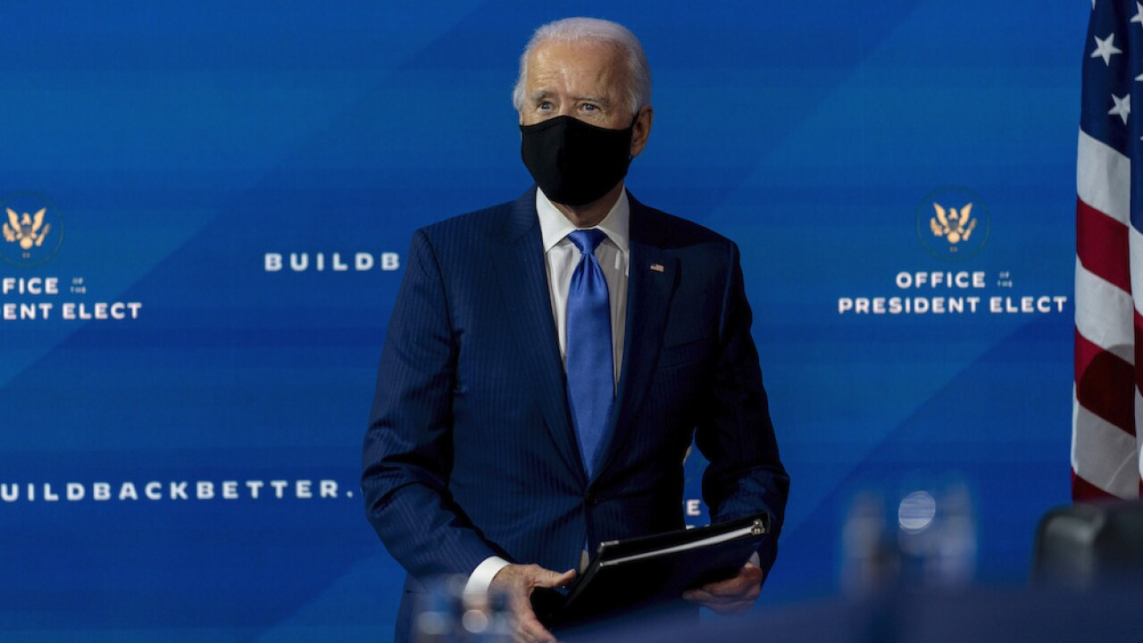 Biden to name all-important picks for top health positions next week