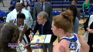 Texas A&M-Corpus Christi women's basketball coach Royce Chadwick