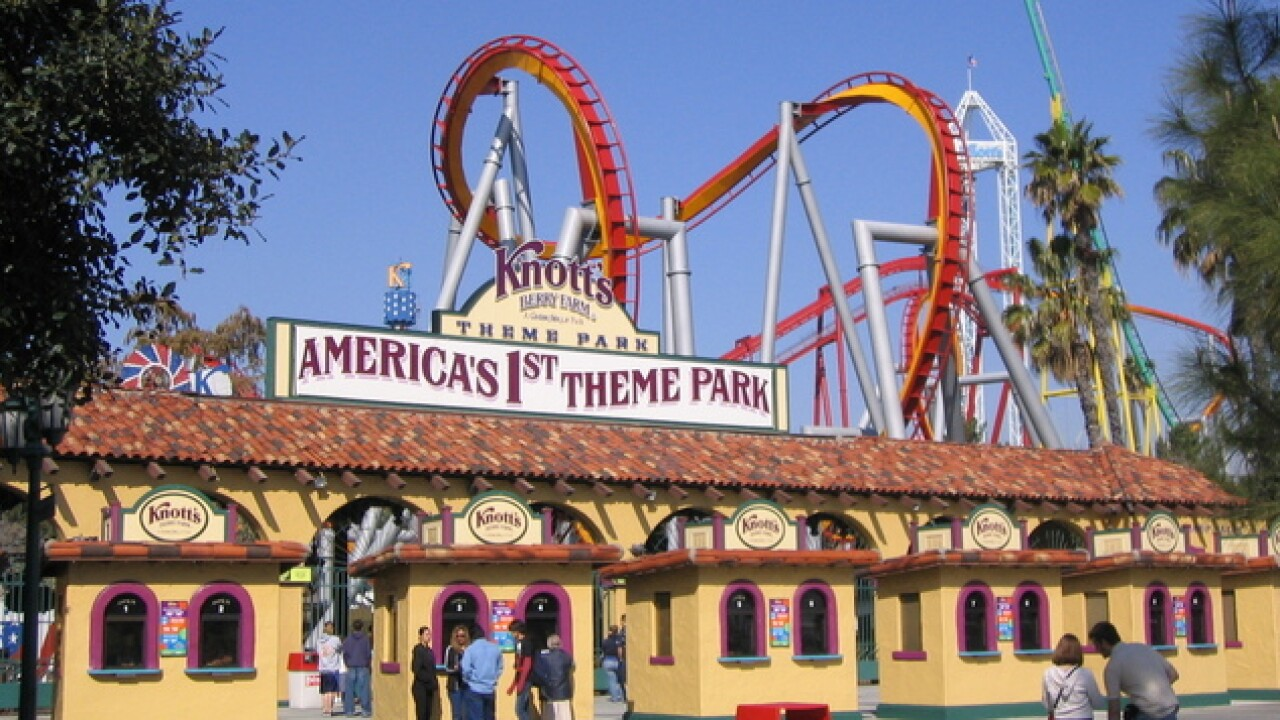 Knott's Berry Farm hosts Military Tribute Days