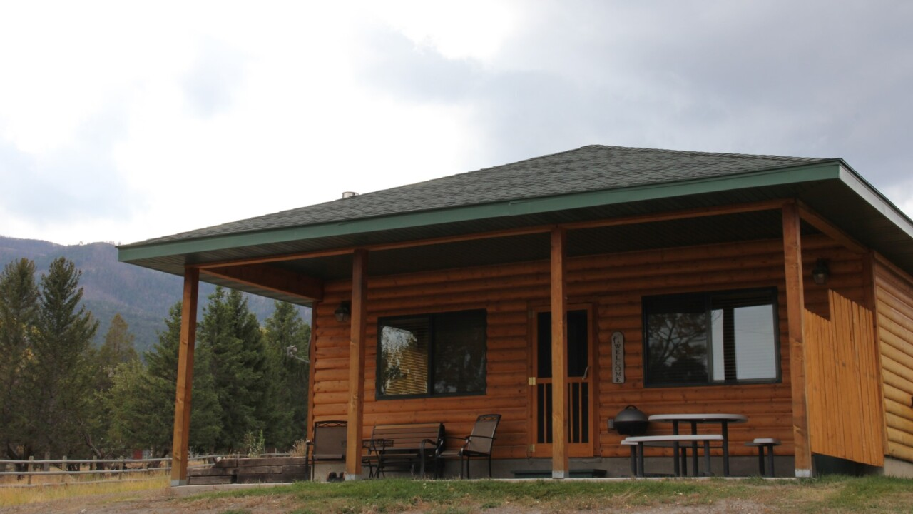 Yellowstone Park Riverfront Cabins.JPG