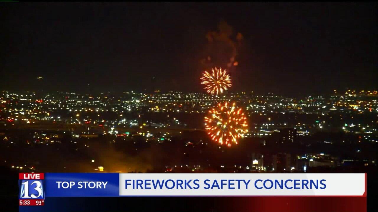 Utah fire agencies list fireworks restrictions for2019