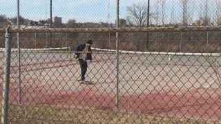 lynch park tennis court skate ramp rail omaha