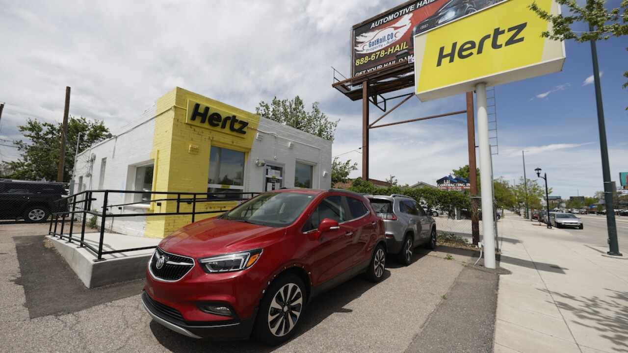 Hertz releases second-quarter financial reports after filing for bankruptcy