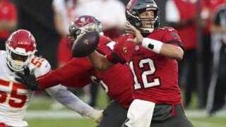 Brady versus Chiefs