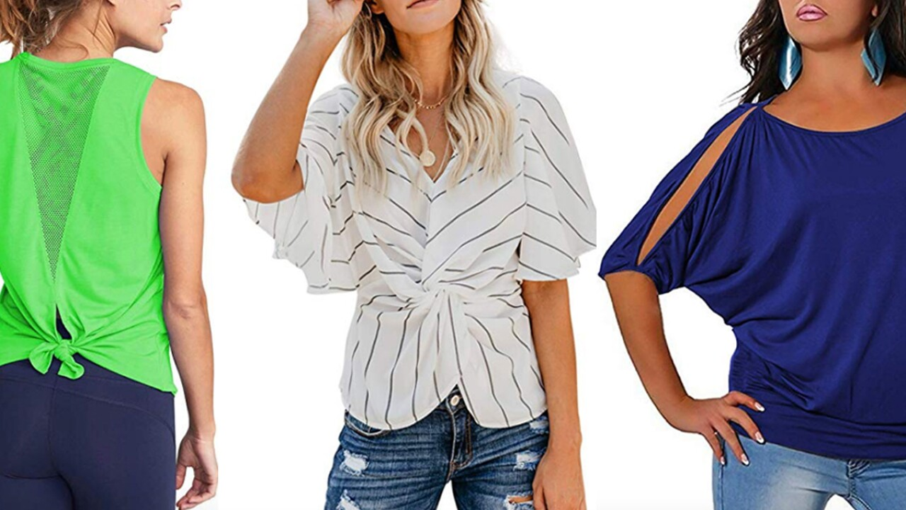 15 Best-Selling Women's Tops On Amazon