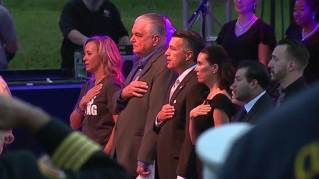 PHOTOS: Vegas Stronger Sunrise Remembrance Sunrise Service